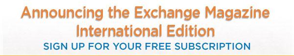 Announcing Exchange International