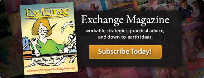 Exchange Magazine - workable stratagies, practical advice, and down-to-earth ideas.