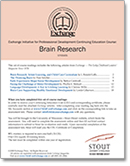 Article-Based CEU<br>Brain Research